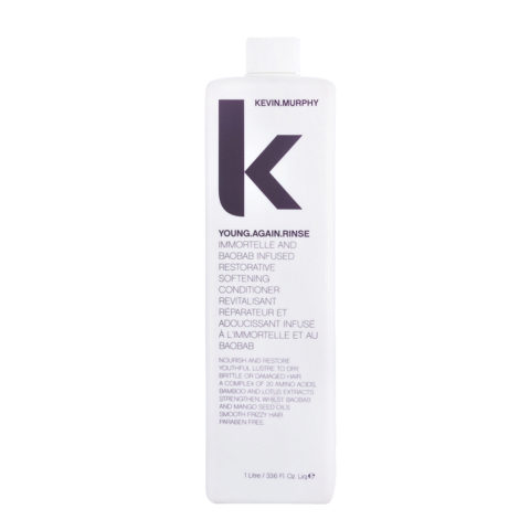 Kevin murphy Conditioner young again rinse 1000ml - Après-shampooing rèparateur