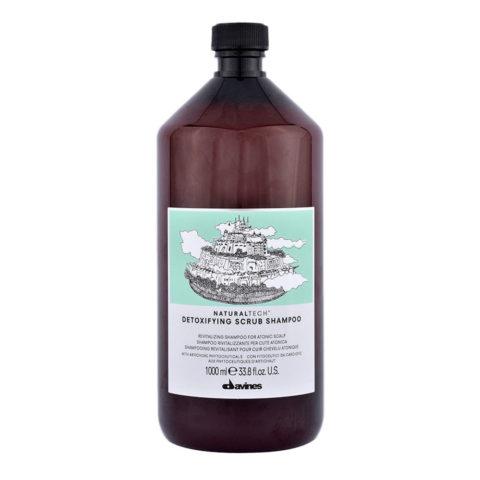 Davines Naturaltech Detoxifying Scrub Shampoo 1000ml - Shampoing revitalisant