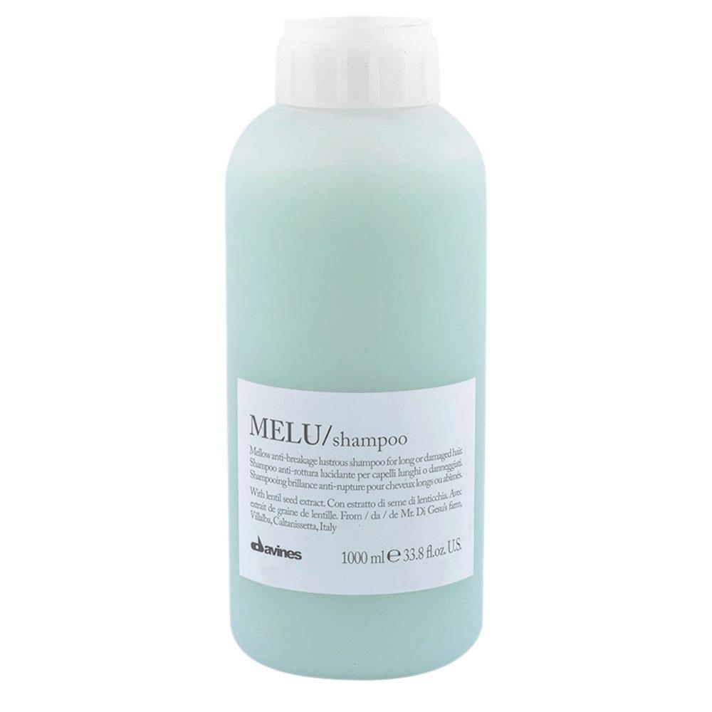 Davines Essential hair care Melu Shampoo 1000ml - Shampooing anti-casse