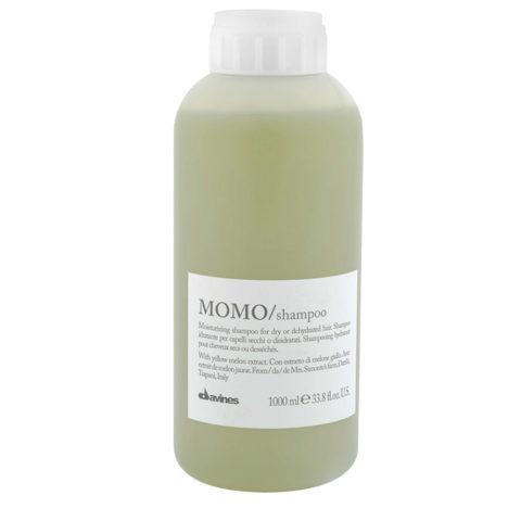 Davines Essential hair care Momo Shampoo 1000ml - shampooing hydratant