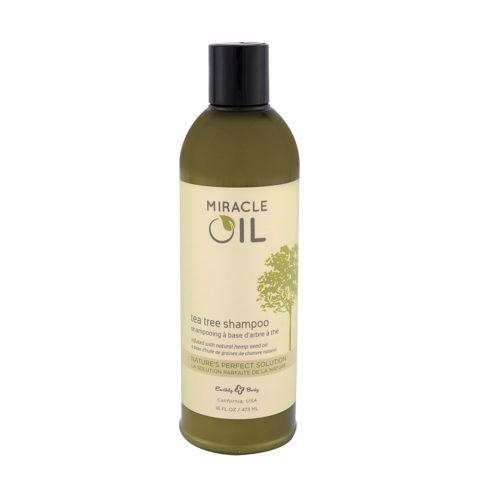 Marrakesh Miracle Oil Tea Tree Shampoo 473ml - shampooing à base d'arbre à thé