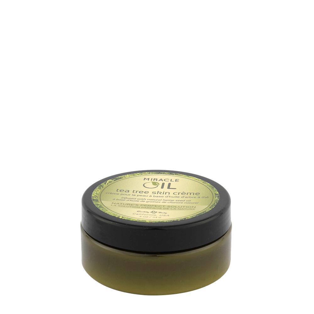 Earthly Body Miracle Oil Tea Tree Skin Cream 118ml - crème pour la peau à base d'huile d'arbre à thé