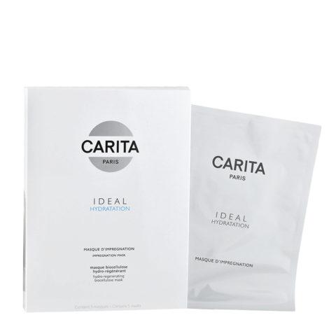 Carita Skincare Ideal hydratation Masque d'Impregnation x5 - masque hydro-régénérant