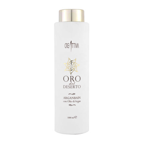 Erilia Oro del Deserto Argan Bain 1000ml - huile d'Argan shampooing