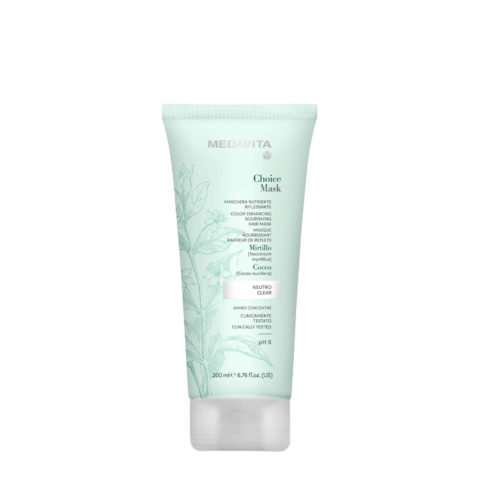 Medavita Lunghezze Choice Mask Neutre 200ml - Masque Raviveur De Reflets