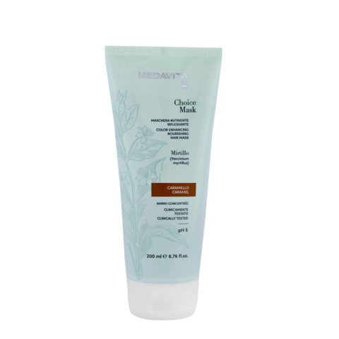 Medavita Lunghezze Choice Mask Caramel 200ml - Masque Raviveur De Reflets