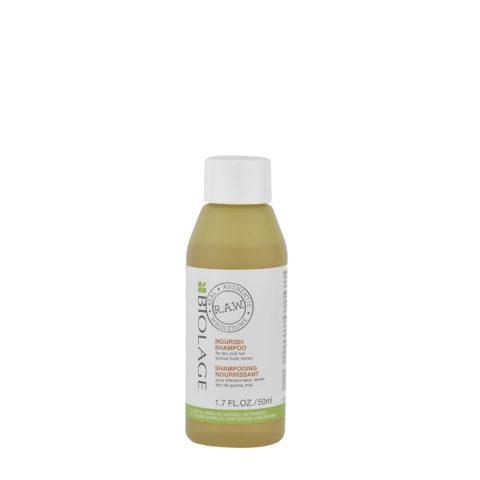 Matrix Biolage RAW Nourish Shampoo 50ml - Shampooing Nourissant