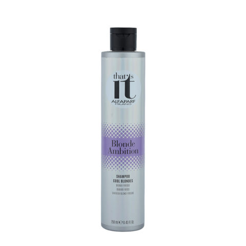 Alfaparf That'S It Blonde Ambition Shampoo Cool Blondes 250ml - Blond-Froids