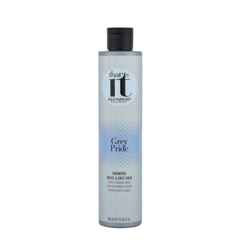 Alfaparf That'S It Grey Pride Shampoo White & Grey Hair 250ml - Shampooing Gris Et Blancs