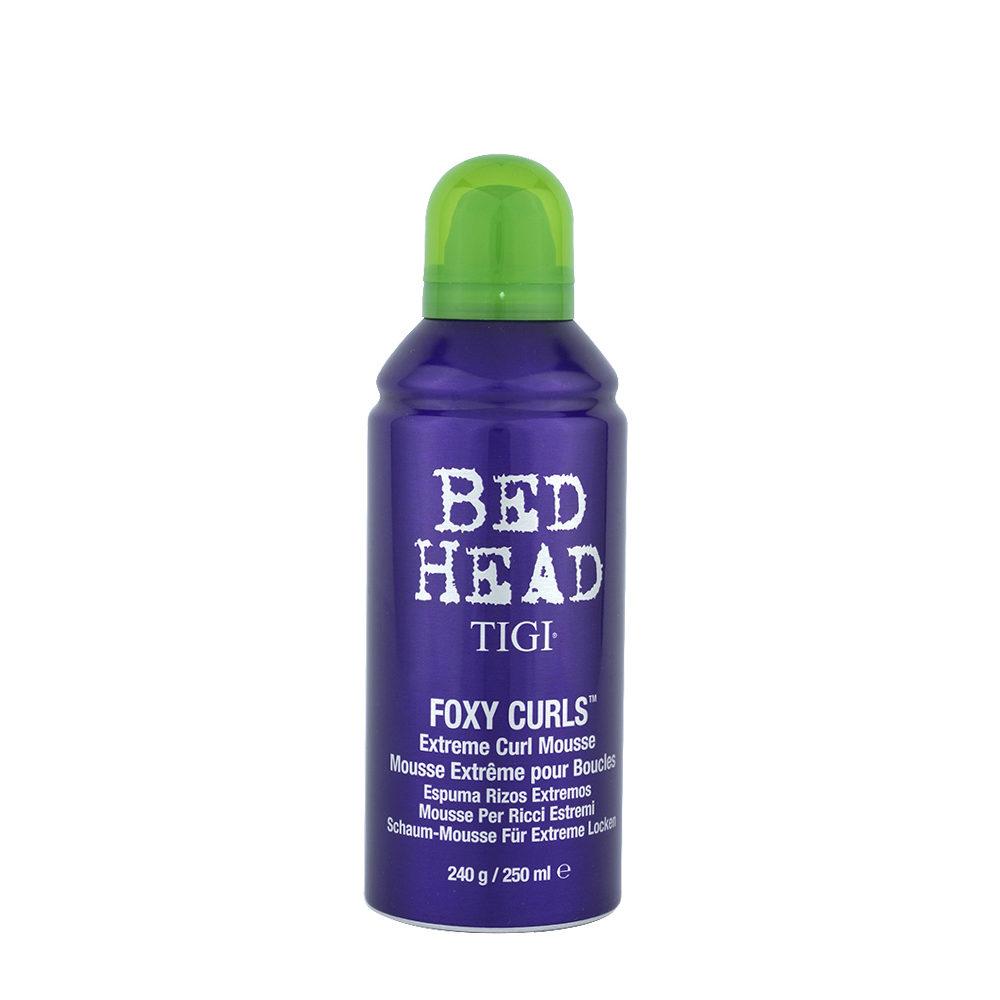 Tigi Bed head Foxy Curls Extreme Curl Mousse 250ml - mousse extreme pour boucles