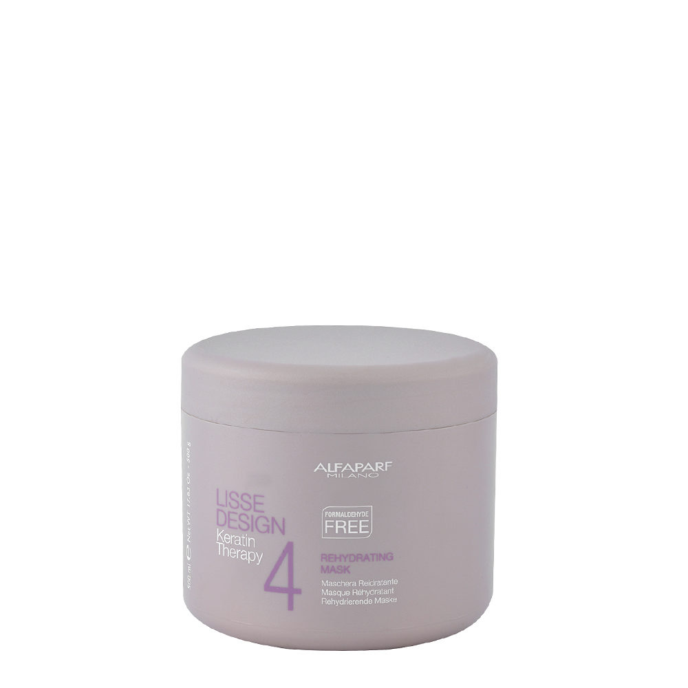 Alfaparf Lisse Design Keratin Therapy 4 Rehydrating Mask 500ml - Masque RéHydratant