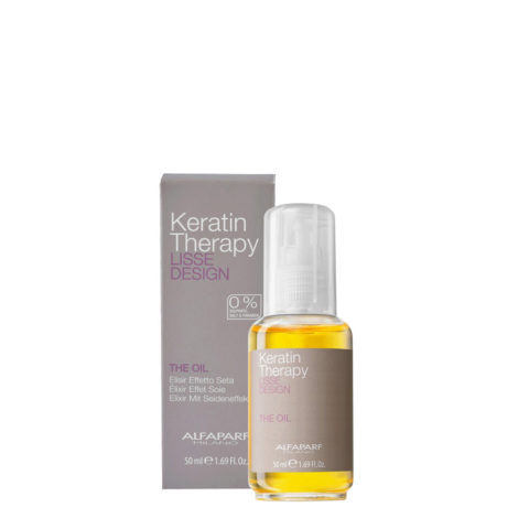 Alfaparf Lisse Design Keratin Therapy The Oil 50ml  - elixir effet soie