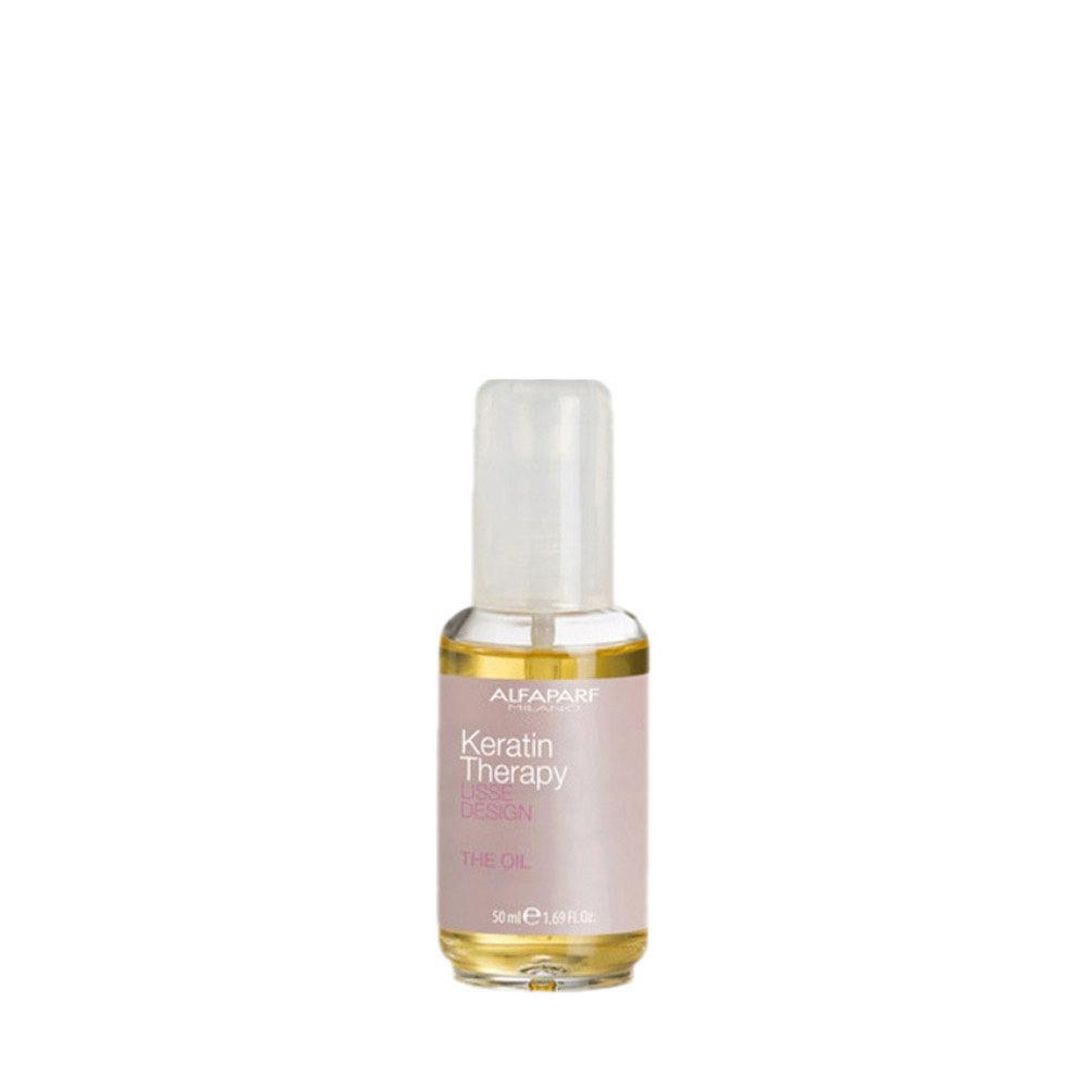 Alfaparf Lisse Design Keratin Therapy The Oil 50ml  - Elixir Effet Soie