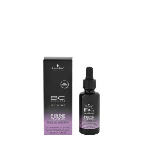 Schwarzkopf BC Bonacure Fibre Force Scalp & Hair Smart Serum 30ml - sérum pour cheveux et cuir chevelu