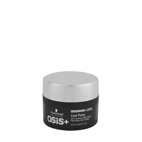 Schwarzkopf Osis Session Label Coal Putty 65ml - cire opaque