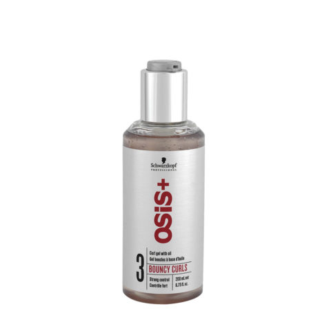 Schwarzkopf Osis Style Bouncy Curls 200ml - Gels pour cheveux fins
