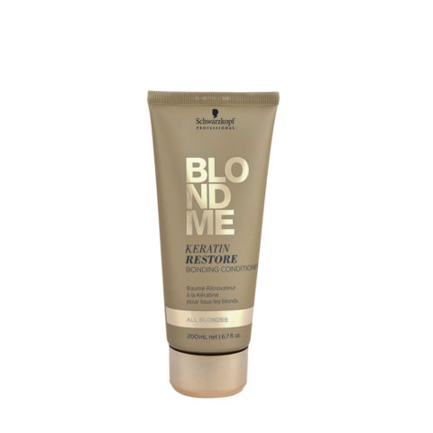 Schwarzkopf Blond Me Keratin Restore Bonding Conditioner 200ml - baume de reconstruction