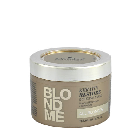 Schwarzkopf Blond Me Keratin Restore Bonding Mask 200ml - masque de reconstruction