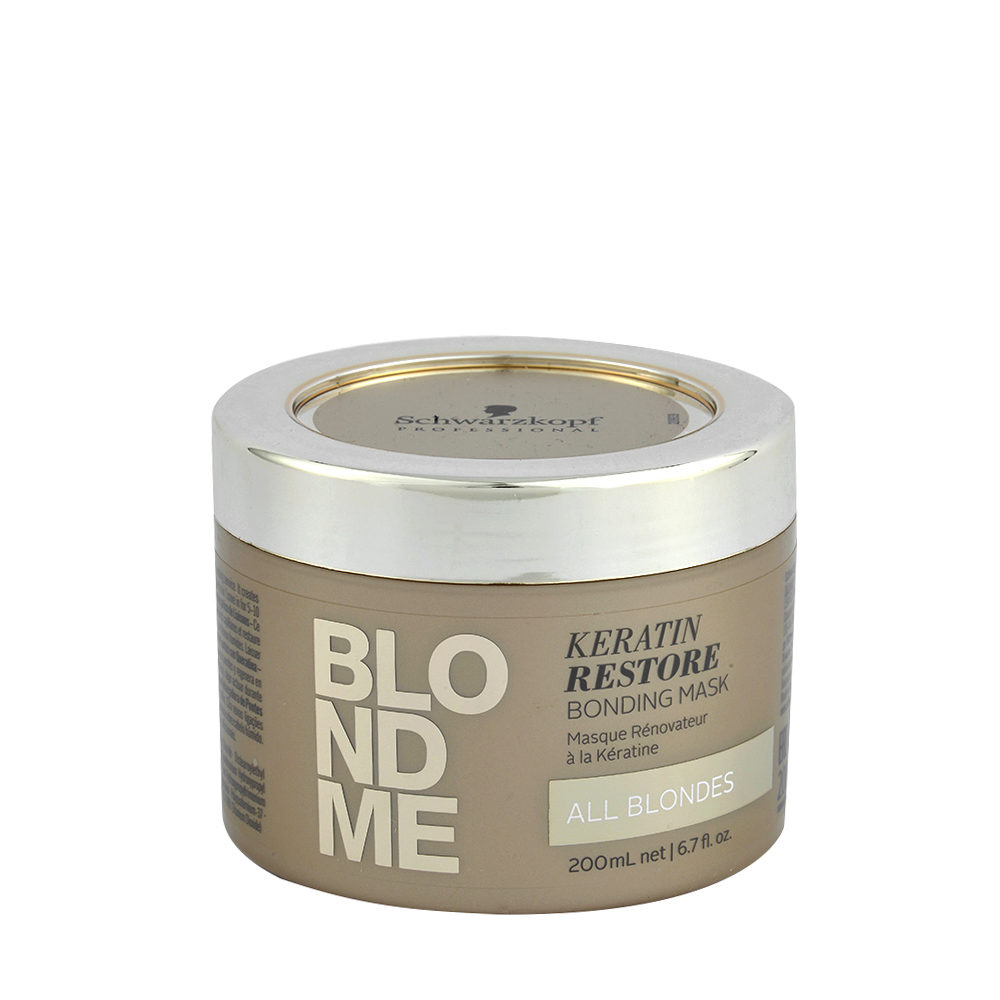 Schwarzkopf Blond Me Keratin Restore Bonding Mask 200ml - masque de reconstruction