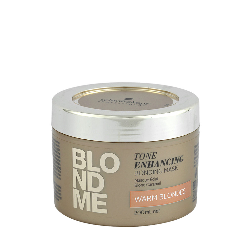 Schwarzkopf Blond Me Tone Enhancing Bonding Mask Warm Blondes 200ml - masque pour blondes chaudes