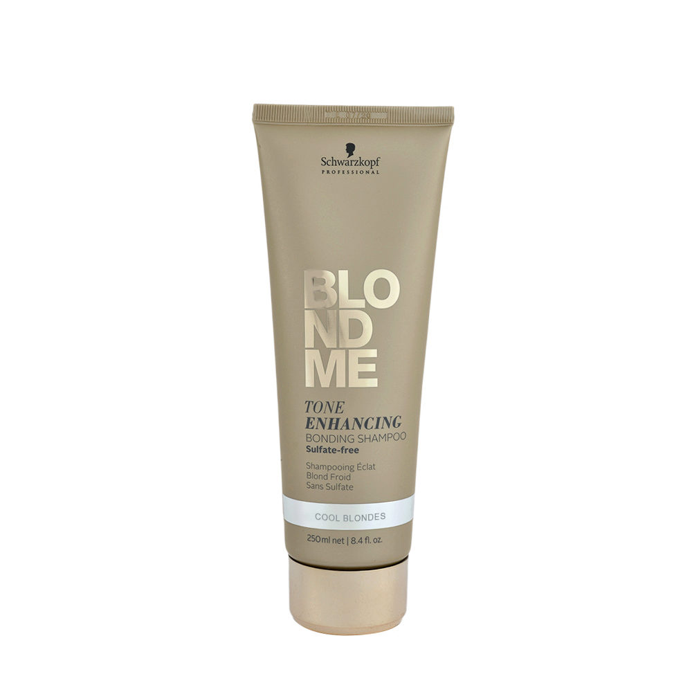 Schwarzkopf Blond Me Tone Enhancing Bonding Shampoo Sulfate free 250ml - shampooing neutralisant aux tons jaunes
