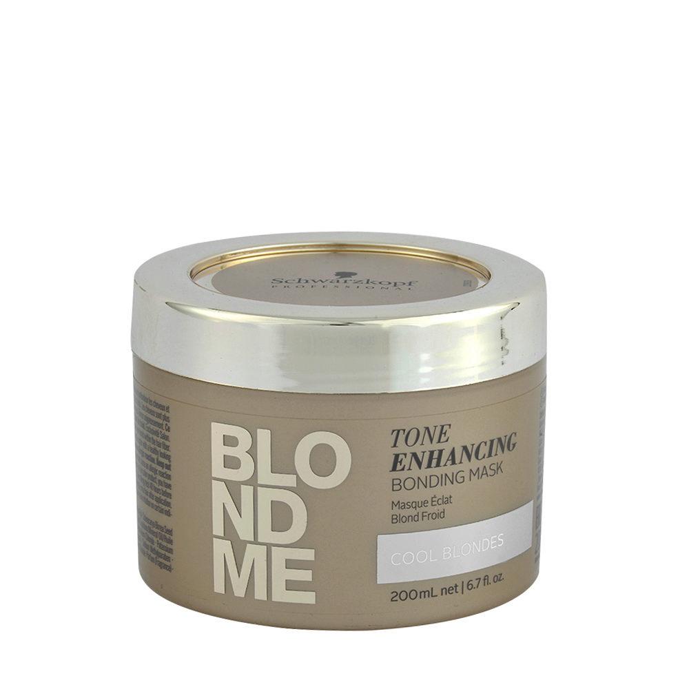 Schwarzkopf Blond Me Tone Enhancing Bonding Mask 200ml - masque neutralisant pour tons jaunes