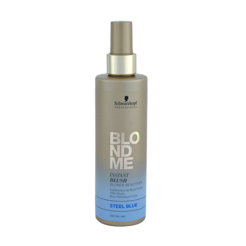 Schwarzkopf Blond Me Instant Blush Steel blue 250ml