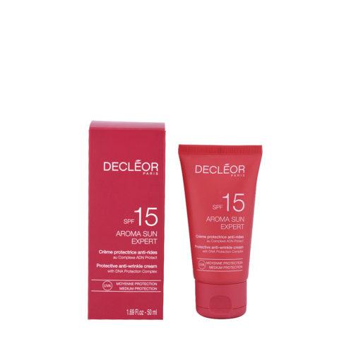 Decléor Aroma Sun Crème Protectrice Anti-rides SPF15, 50ml