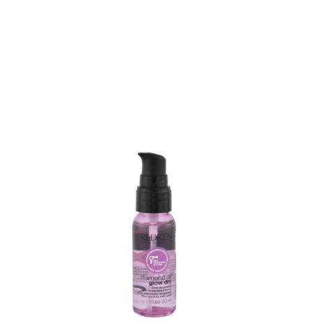 Redken Diamond oil Glow dry oil 30ml - Huile thermoactive ultra légère