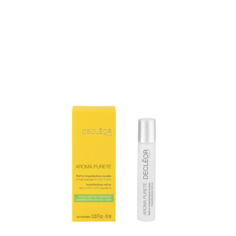 Decléor Aroma Pureté Ylang-Ylang Roll'on Imperfections Locales 10ml