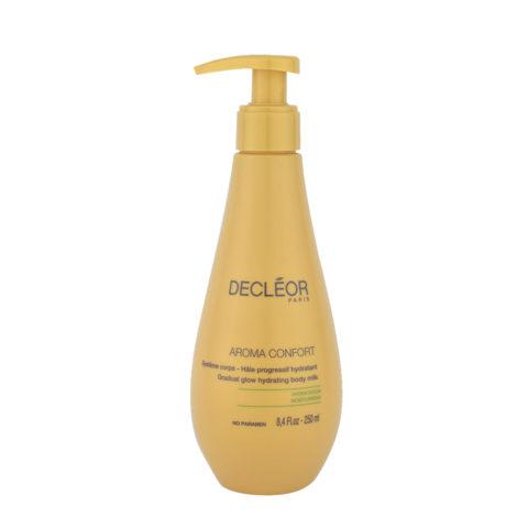 Decléor Aroma Confort Hâle Progressif Hydratant 250ml - lait corporel bronzant progressif