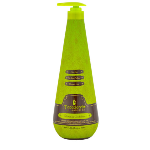 Macadamia Volumizing Conditioner 1000ml - après shampooing