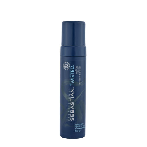 Sebastian Twisted Styling Foam 200ml - rehausseur de boucles