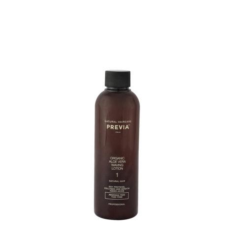 Previa Organic Aloe Vera Waving Lotion liquide ondulant parfumé 200ml - cheveux naturels
