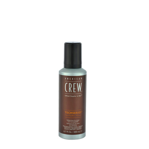 American Crew Styling Techseries Texture Foam 200ml - mousse épaississante