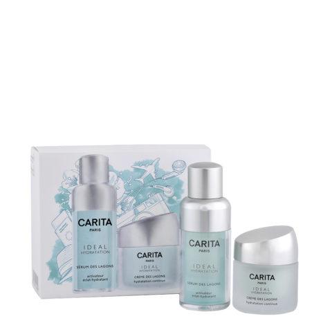 Carita Skincare Ideal Hydratation Kit Serum des lagons 15ml  Creme des lagons 15ml