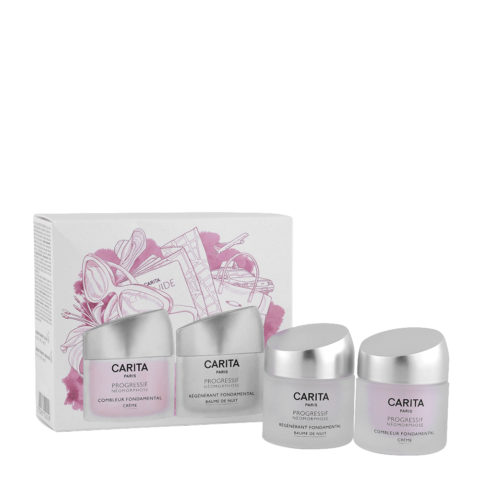 Carita Skincare Progressif Néomorphose Kit Combleur Creme 15ml   Régénérant Creme 15ml