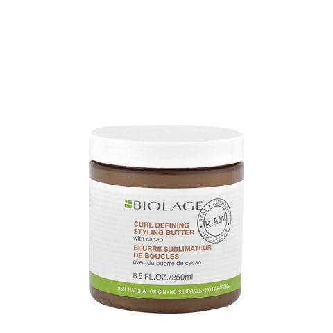 Biolage RAW Curl Defining Styling Butter 250ml - beurre sublimateur de boucles