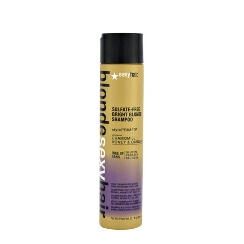 Blonde Sexy Hair Sulfate-Free Bright Blonde Shampoo 300ml