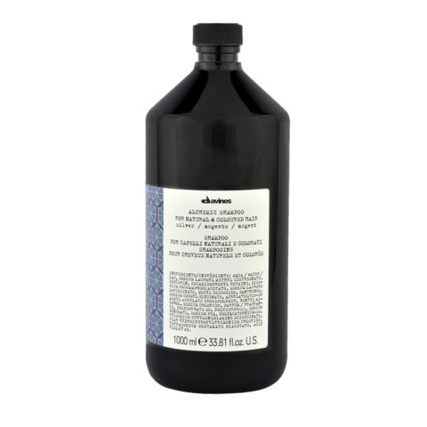 Davines Alchemic Conditioner Silver 1000ml - crème conditionnante cheveux platines