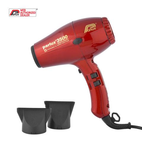 Parlux 3500 Supercompact rouge - sèche-cheveux rouge