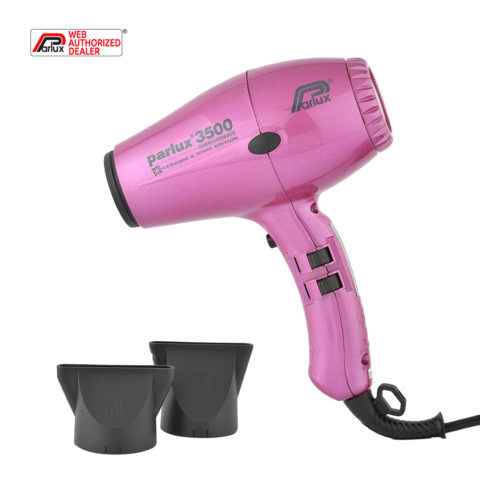 Parlux 3500 Supercompact rose - sèche-cheveux