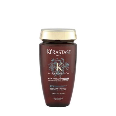 Kerastase Aura Botanica Bain Micellaire Riche 250ml - Shampooing cheveux dévitalisés et gros