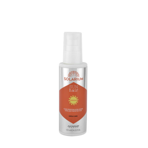 Alfaparf Solarium Sun Hair Protection Ultra Light Protective Fluid 125ml - Fluide Protecteur Ultra LéGèR