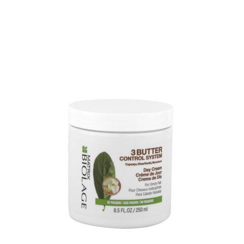 Biolage 3Butter Control system Day cream 250ml - crème sans rinçage cheveux indisciplinés