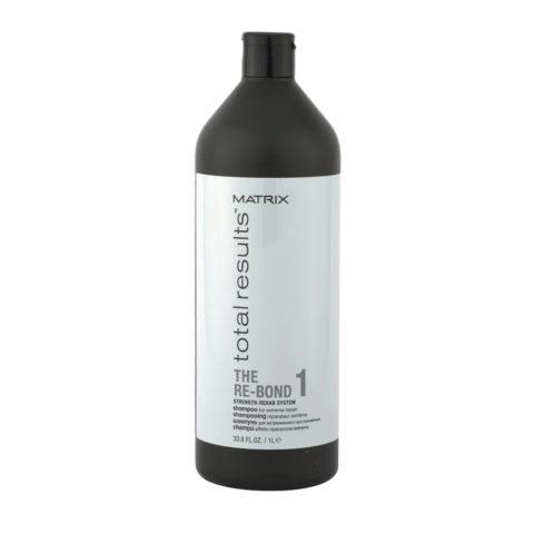 Matrix Total results The Re-bond 1 Shampoo 1000ml - Shampooing de reconstruction post decoloration