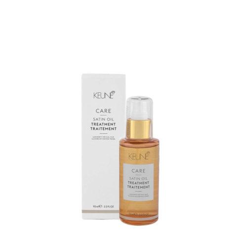 Keune Care line Satin oil Traitement 95ml - Huile Cheveux