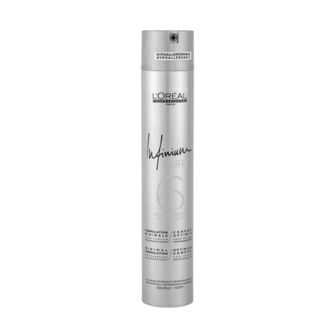 L'Oreal Hairspray Infinium Pure Soft 500ml