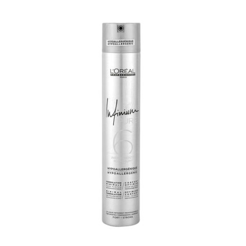 L'Oreal Hairspray Infinium Pure Strong 500ml