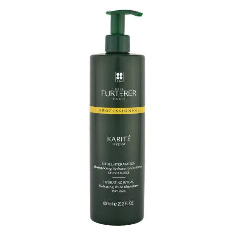René Furterer Karité Rituel hydratation Shampooing hydratation brillance 600ml